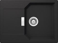 Кухонная мойка Schock Manhattan 45D CRISTALITE (Комплектация 2), оникс