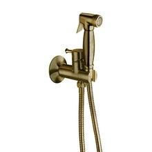 Гигиенический душ Cristina WJ67792 со смесителем (бронза)