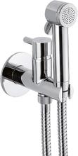 Гигиенический набор Webert Elio EL870303015PVC хром