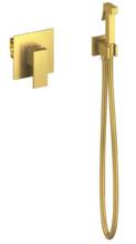 Гигиенический набор Timo Selene 2089/17SM скрытого монтажа, золото матовое