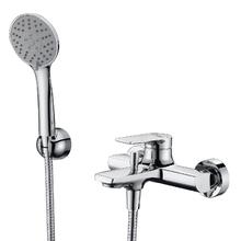 Смеситель для ванны с коротким изливом Wasserkraft Lopau 3201