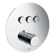 Термостатический смеситель для ванны и душа Wasserkraft Dinkel 5844 Thermo