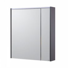 Зеркало-шкаф 70 см Roca Ronda ZRU9302969 белый глянец/антрацит