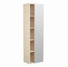 Шкаф-колонна Etna 45,5х30,6х160 см, дуб верона, зеркальная дверца, реверсивная установка двери, подвесной монтаж 857303445