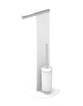 Набор для туалета напольный KEUCO Universal 04986510101 Белый/Хром