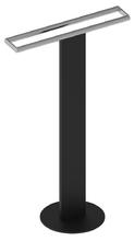 Напольный двойной полотенцедержатель KEUCO Universal 04987370201 Чёрный/Хром