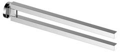 Полотенцедержатель Keuco Edition 90 19018010000 двойной, поворотный, хром 45 см