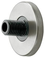 Настенное крепление с заглушкой KEUCO Plan 14935170000 алюминий серебристый анодированный
