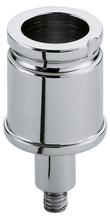 Соединительный элемент для штанги KEUCO Plan 14931570000 тёмно-серый