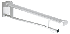 Складной поручень для туалета вылет 850 мм KEUCO PLAN CARE 34903010851 Хром/белый