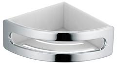 Полка в ванну угловая (корзина) Keuco Elegance New 11657010001 хром, антрацит