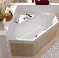 Квариловая ванна Villeroy&Boch Squaro 190x80 UBQ190SQR6V-01