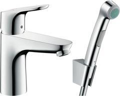 Смеситель для раковины Hansgrohe Focus 31927000 с гигиеническим душем