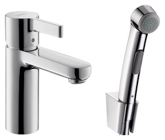Комплект для раковины Hansgrohe Metris S 31160000 с гигиеническим душем