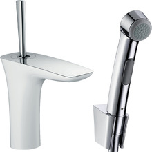 Смеситель для раковины Hansgrohe PuraVida 15275400 с гигиеническим душем