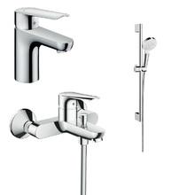 Комплект смесителей с душем hansgrohe Logis E 71178000+71415000+26532400