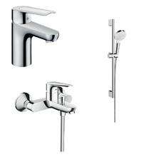 Комплект смесителей с душем hansgrohe Logis E 71177000+71415000+26532400