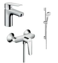 Комплект смесителей с душем hansgrohe Logis E 71178000+71610000+26532400