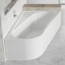 Акриловая ванна Ravak Chrome CA61000000 160х105 R белая