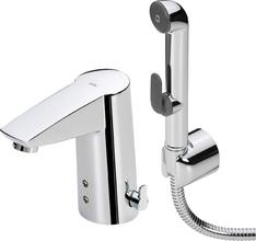 Смеситель для раковины Oras Cubista 2816F с гигиеническим душем