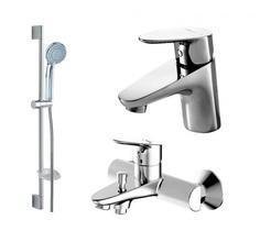 Комплект для ванной комнаты Bravat Drop 3 в 1 F00308C