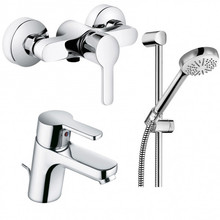Комплект смесителей с душем Kludi 378450575