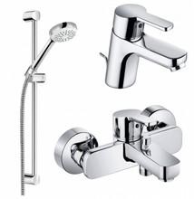 Комплект смесителей с душем Kludi 376850575
