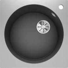 Кухонная мойка Blanco ARTAGO 6 SILGRANIT PuraDur IF/A 521766, антрацит