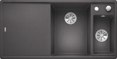 Кухонная мойка Blanco AXIA III 6 S SILGRANIT PuraDur 523463, темная скала