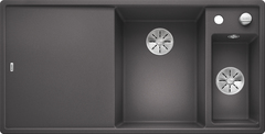 Кухонная мойка Blanco AXIA III 6 S SILGRANIT PuraDur 523473, темная скала