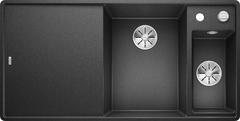 Кухонная мойка Blanco AXIA III 6 S-F SILGRANIT PuraDur 523483, антрацит