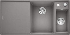 Кухонная мойка Blanco AXIA III 6 S-F SILGRANIT PuraDur 523485, алюметаллик