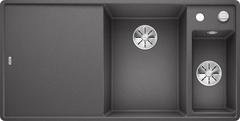 Кухонная мойка Blanco AXIA III 6 S-F SILGRANIT PuraDur 523490, темная скала