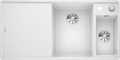 Кухонная мойка Blanco AXIA III 6 S-F SILGRANIT PuraDur 523492, белый