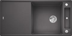 Кухонная мойка Blanco AXIA III XL 6 S SILGRANIT PuraDur 523501, темная скала