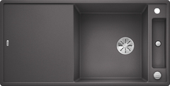 Кухонная мойка Blanco AXIA III XL 6 S SILGRANIT PuraDur 523511, темная скала