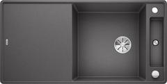 Кухонная мойка Blanco AXIA III XL 6 S-F SILGRANIT PuraDur 523527, темная скала