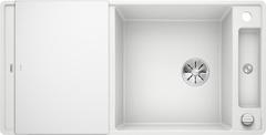 Кухонная мойка Blanco AXIA III XL 6 S-F SILGRANIT PuraDur 523529, белый