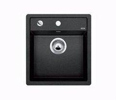 Кухонная мойка Blanco DALAGO 45-F SILGRANIT PuraDur 517166, антрацит