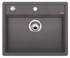 Кухонная мойка Blanco DALAGO 6-F SILGRANIT PuraDur 518851, темная скала