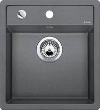 Кухонная мойка Blanco DALAGO 45-F SILGRANIT PuraDur 517167, алюметаллик