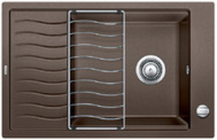 Кухонная мойка Blanco ELON XL 6S SILGRANIT PuraDur 524843, кофе