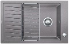Кухонная мойка Blanco ELON XL 6S SILGRANIT PuraDur 524836, алюметаллик