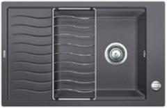 Кухонная мойка Blanco ELON XL 6S SILGRANIT PuraDur 524835, темная скала