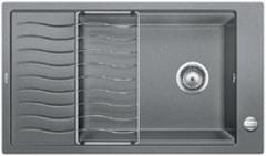 Кухонная мойка Blanco ELON XL 8 S SILGRANIT PuraDur 524862, алюметаллик