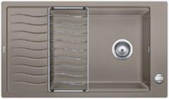 Кухонная мойка Blanco ELON XL 8 S SILGRANIT PuraDur 524867, серый беж