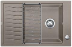 Кухонная мойка Blanco ELON XL 6S SILGRANIT PuraDur 524841, серый беж