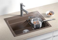 Кухонная мойка Blanco ETAGON 6 SILGRANIT PuraDur 524541, алюметаллик