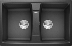 Кухонная мойка Blanco LEXA 8 SILGRANIT PuraDur 524960, антрацит