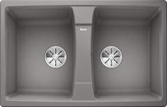 Кухонная мойка Blanco LEXA 8 SILGRANIT PuraDur 524962, алюметаллик